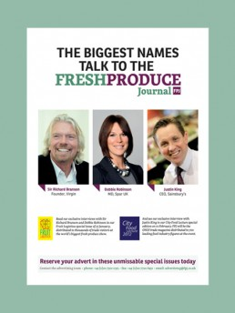 The Fresh Produce Journal, interviews advert